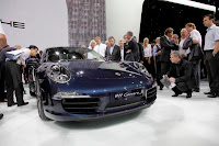 2012 All-New Porsche 911 (991) Coupé @ the 2011 IAA Frankfurt Motor Show