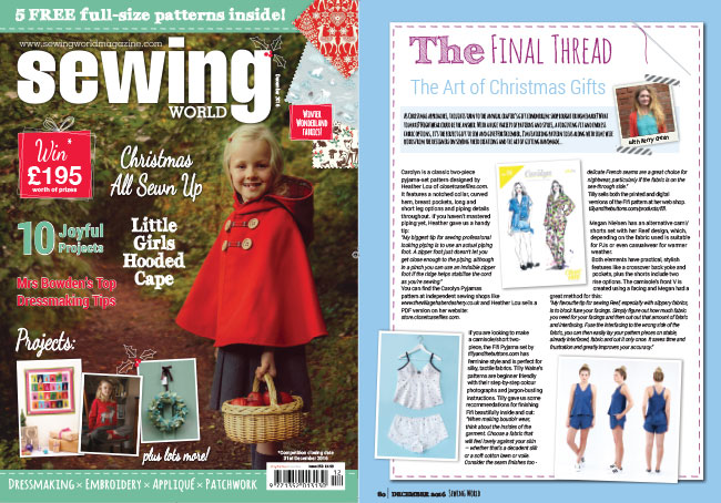 Sewing World December 2016