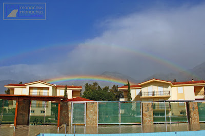 Double rainbow - Monachus Monachus Apartments