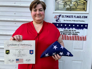 Ultimate Flags honored by USMC SOTF