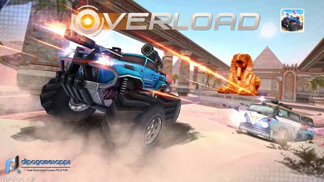 Overload: Multiplayer Battle Car Shooting APK Images