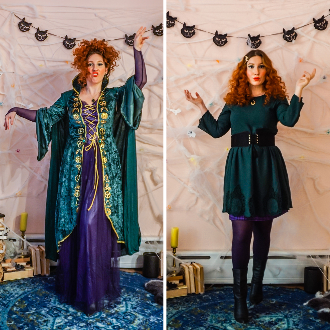Winifred Sanderson Costume Ideas // Winifred Sanderson Costume Modern // Sarah Sanderson Costume // Sarah Sanderson Modern // Mary Sanderson // Mary Sanderson Modern // Group Costume Ideas // Halloween 2020 Costume Ideas // Halloween 2020 // Virtual Costume Party Ideas // Virtual Halloween Party Costume // Hocus Pocus Costumes // Costume Ideas From Your Closet // Costume Ideas That You Can Wear Later // Girl Group Costume Ideas // Girlfriend Costume Ideas // Group Costumes // Halloween Costume Ideas