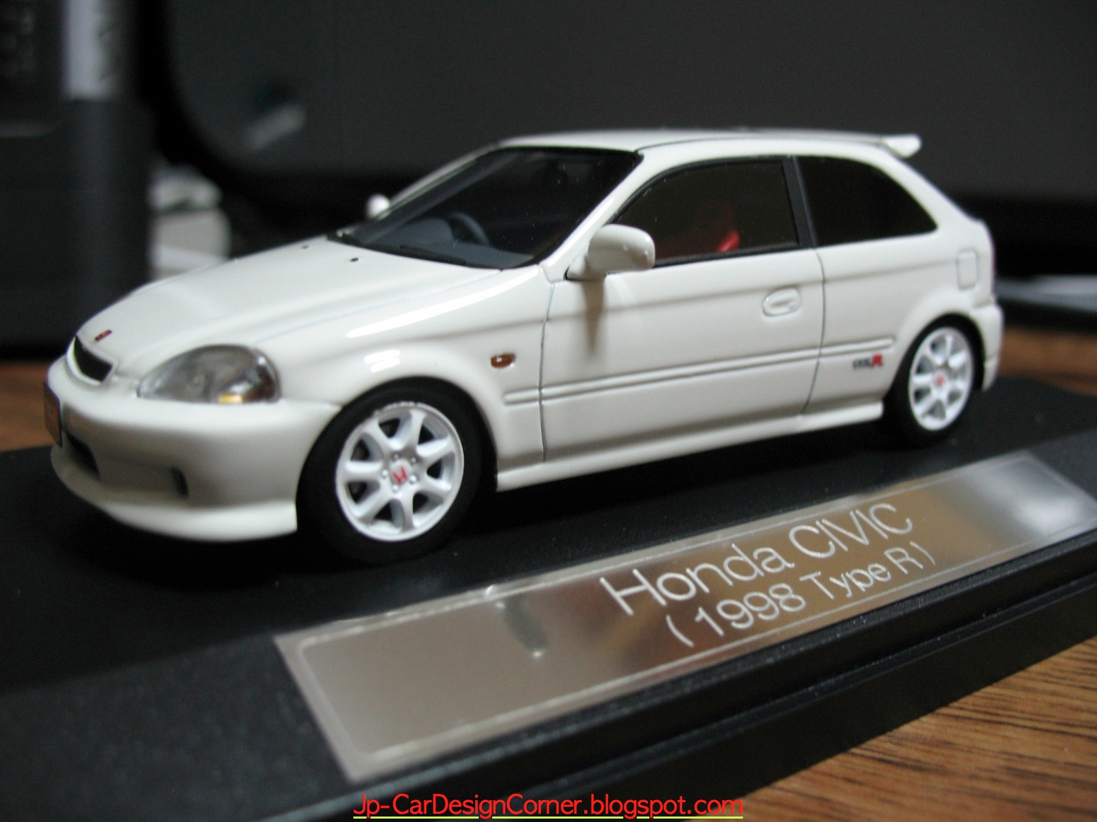 honda civic type r 1998 ek9 scale model. Black Bedroom Furniture Sets. Home Design Ideas