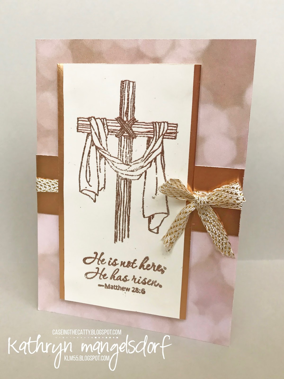 Kathryn's Stampin' World: CASE-ing the Catty Easter ...