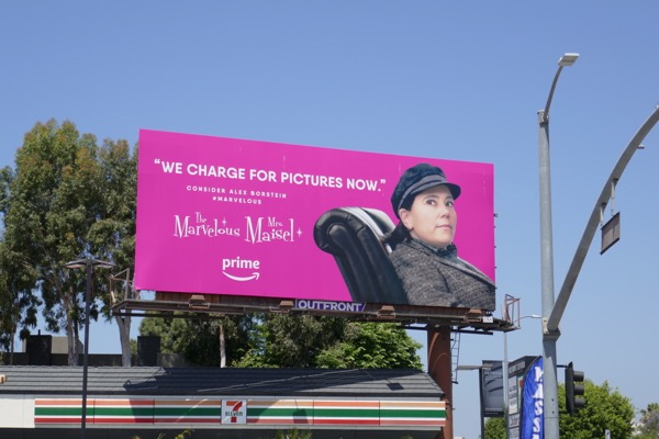 Mrs Maisel Alex Borstein Emmy FYC billboard