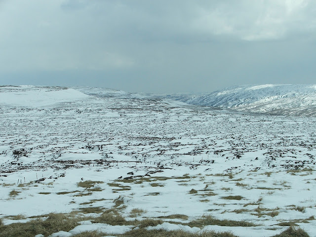 Hawes in North Yorkshire during the winter