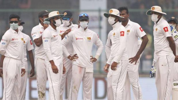 Reason behind Sri Lankan players wearing mask in 3rd Test revealed