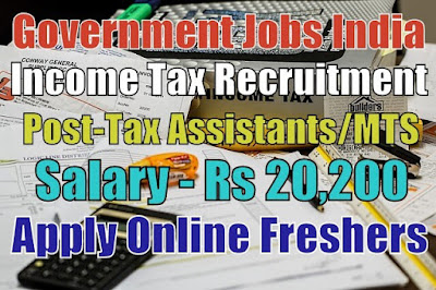 Income Tax Recruitment 2019