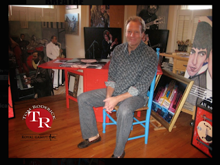 Boulder portrait artist Tom Roderick