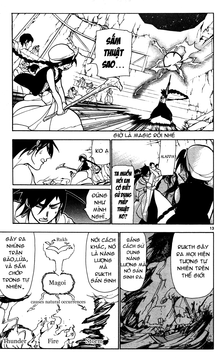 Magi The Labyrinth of magic chapter 46 trang 15