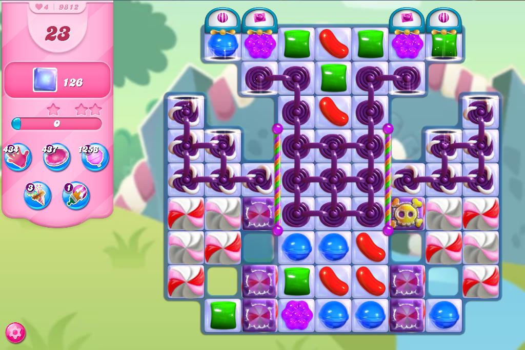 Candy Crush Saga level 9812