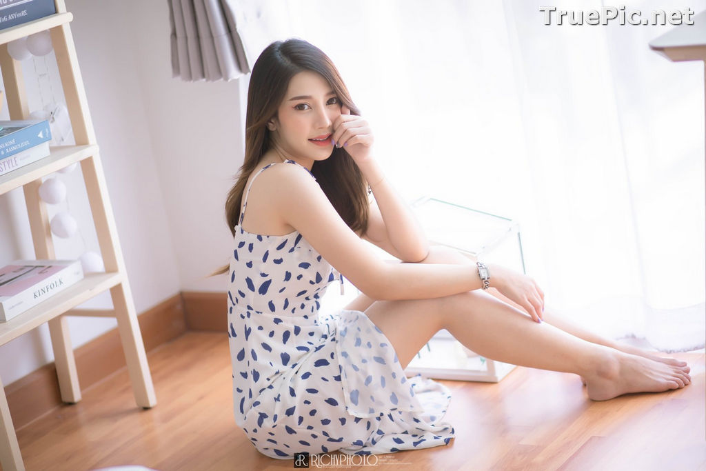 Image Thailand Model - Sasipa Tungmay Jibkrapong - Weekend Morning Dress - TruePic.net - Picture-10