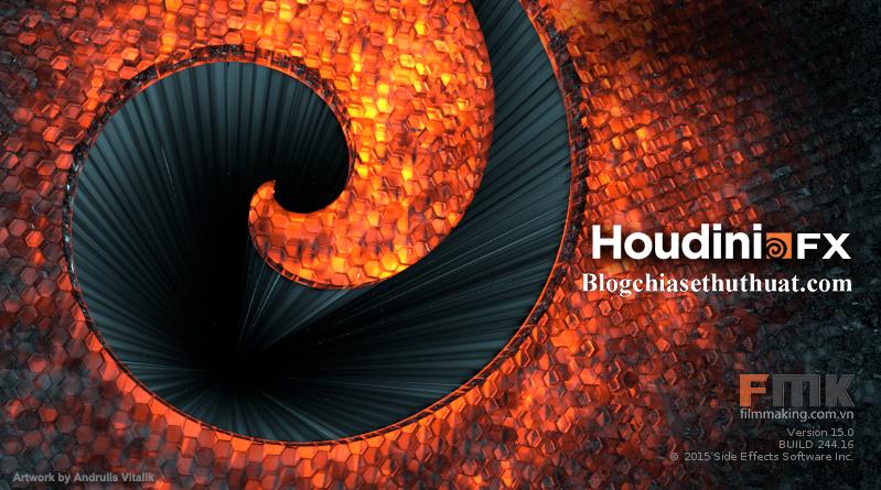 SideFX Houdini FX - Phần mềm tạo kỹ xảo phim 3D chuyên nghiệp
