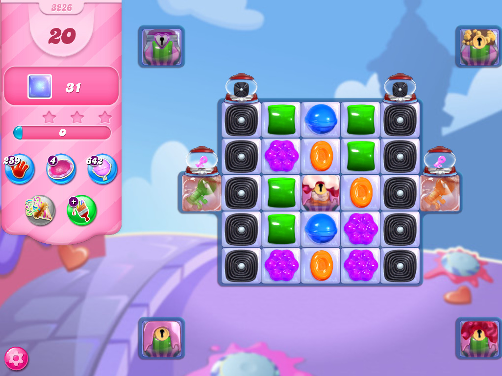 Candy Crush Saga level 3226