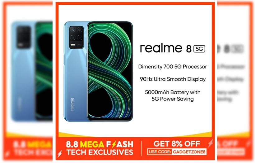realme 8 5G x shopee 8.8