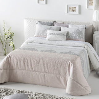 Colcha Bouti modelo Palma color Rosa de Antilo Textil