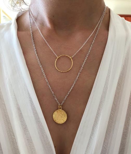 bijoux fantaisie argent tendance