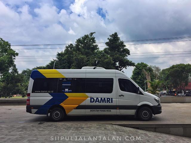 Damri Bandara YIA Sleman City Hall