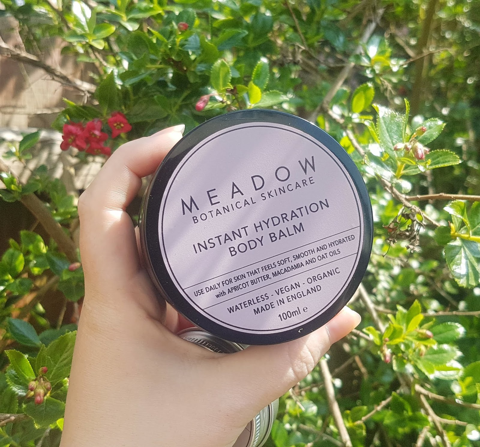Meadow Skincare Instant Hydration Body Balm Review