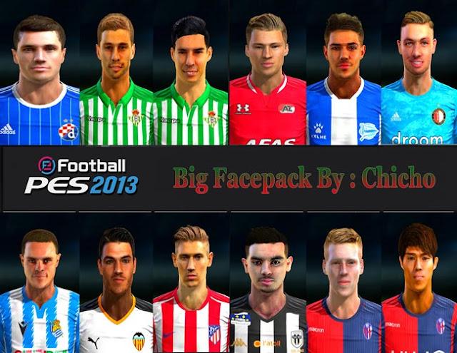 New Big Facepack 2020 PES 2013
