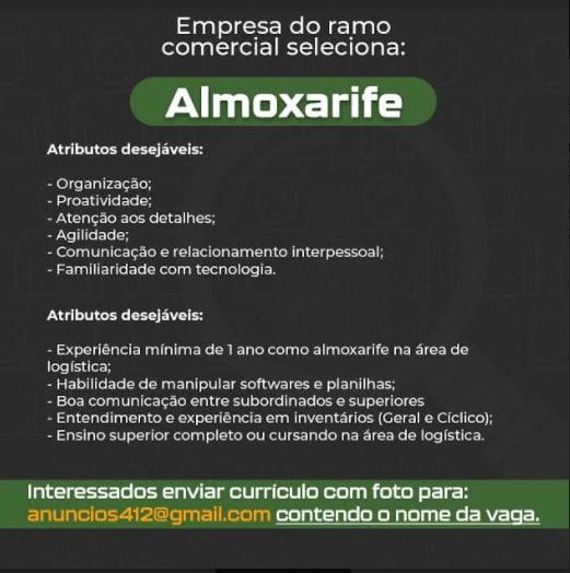 ALMOXARIFE