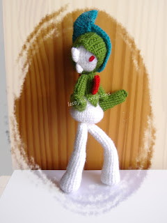 Pokémon Gallade au crochet