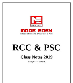 rcc made easy class note 2019