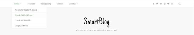 SmartBlog Blogger Template Free Download