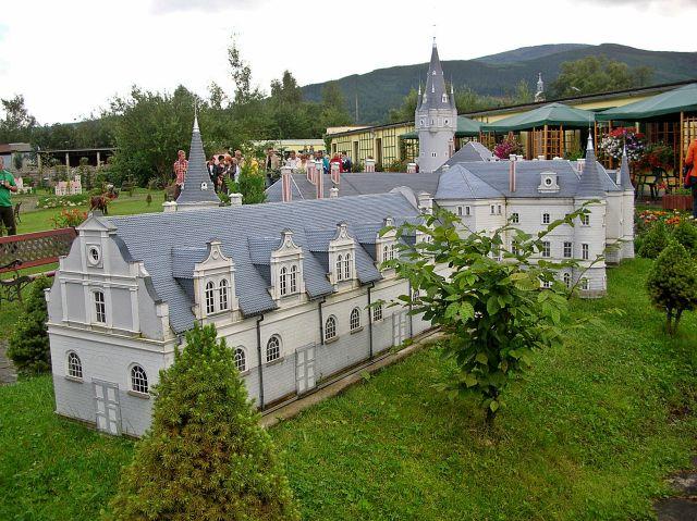 Kowary, miniatura, zabytki, Dolny Śląsk
