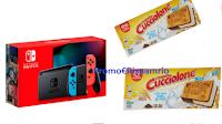 Logo Algida Cucciolone Super Mario: vinci 66 Videogames e 10 console Nintendo Switch