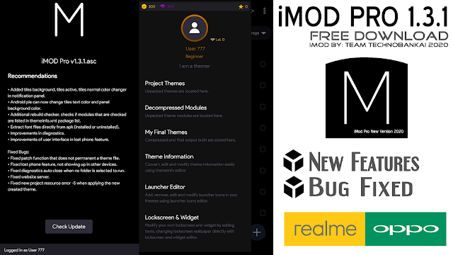 Download New iMod Pro v1.3.1.asc for ColorOS