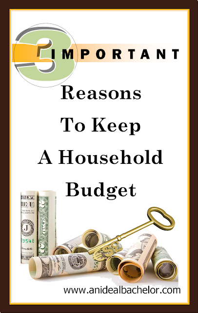 We work hard to earn a living. We should make sure we spend the money we bring home wisely. That's where a household budget comes in.