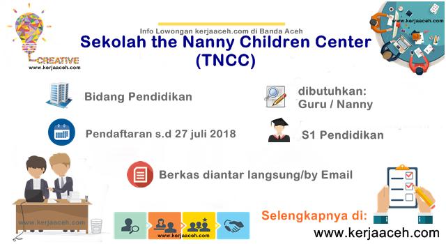 Lowongan Kerja Aceh Terbaru 2018 Guru (Nanny) di Jambotape Banda Aceh S1 Pendidikan