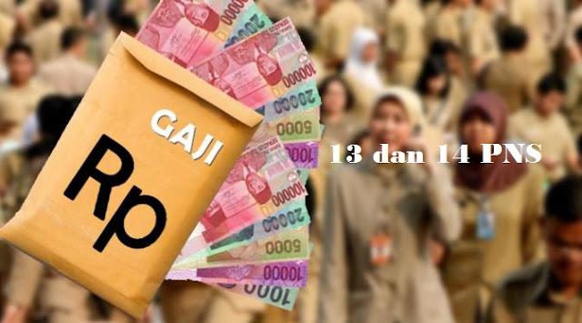 Gaji 13 PNS, TNI, Polri dan Pensiun Tahun 2020 Akan Naik, Berikut Rinciannya