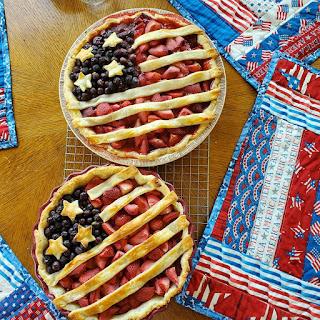 American Flag Pies
