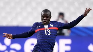 Kante returns to Chelsea after suffering hamstring injury on duty with France