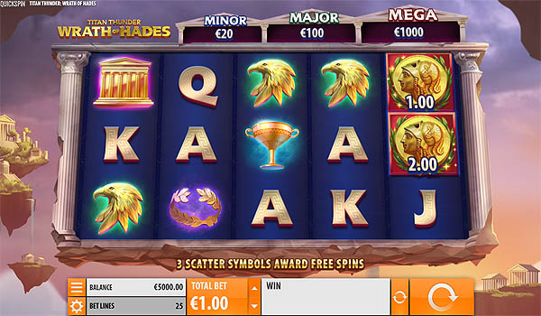 Main Slot Gratis Indonesia - Titan Thunder: Wrath of Hades (Quickspin)