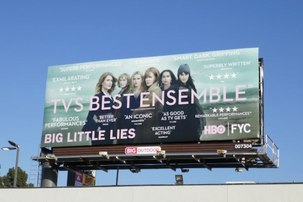 Big Little Lies season 2 FYC billboard