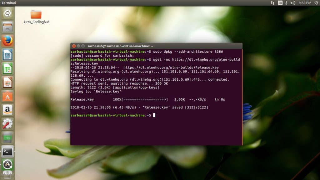 how to install wine on ubuntu