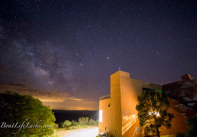 Stars over Mesa Verde National Park Lodge
