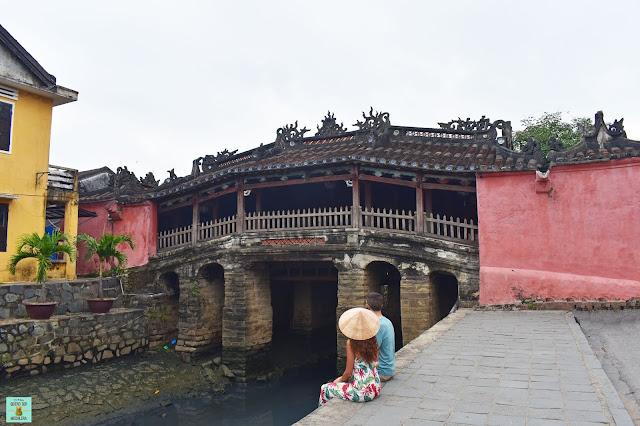 Puente japonés de Hoi An, Vietnam