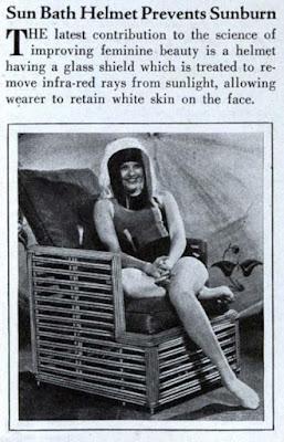 Sun Bath Helmet