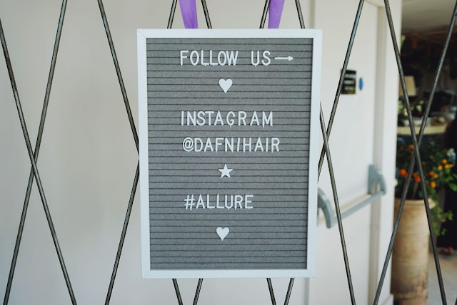 dafni hair straightner event