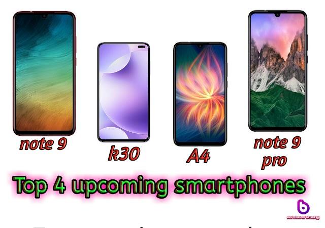Top 4 upcoming smartphones in march