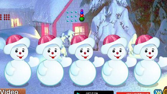 Wowescape Hiding Santa Gift Escape