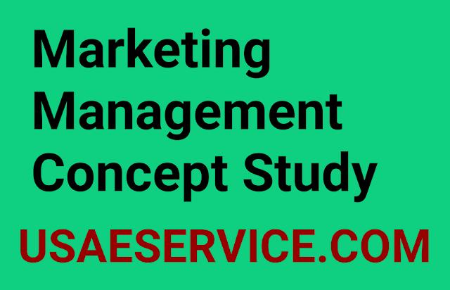 Marketing Management Concept
