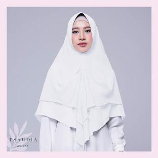 Hijab Amily Tsaudia White