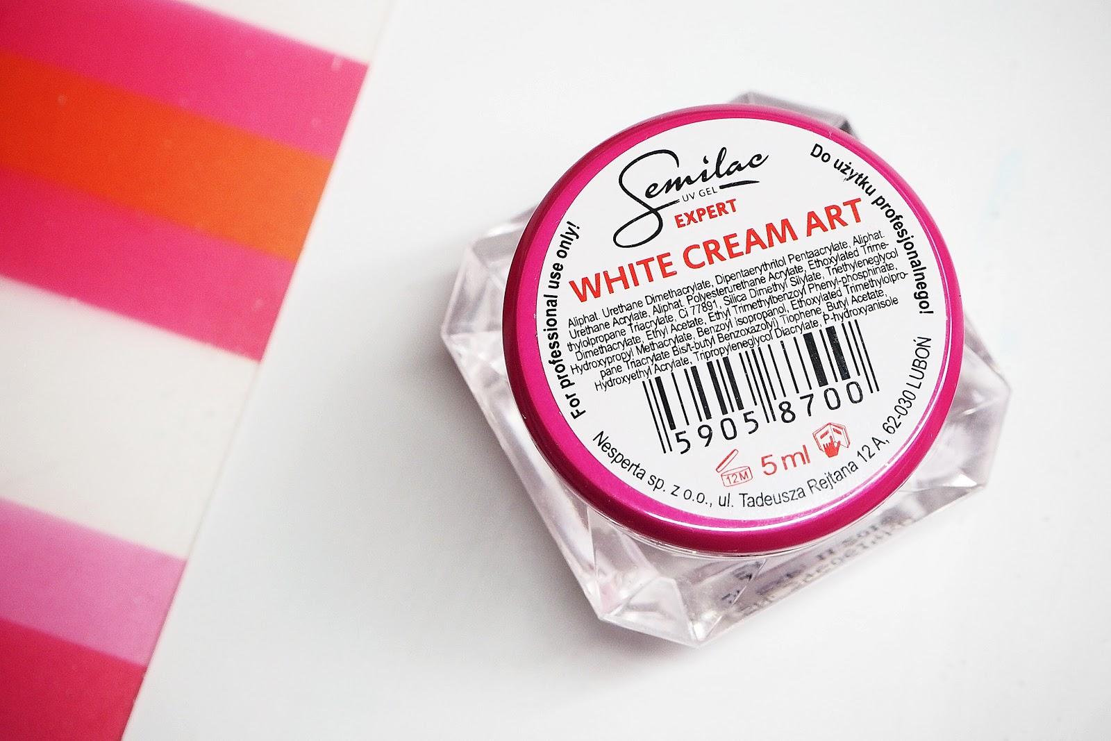 jak używać white cream art