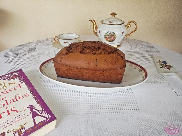 Receita de Bolo de chocolate de Jenny Colgan