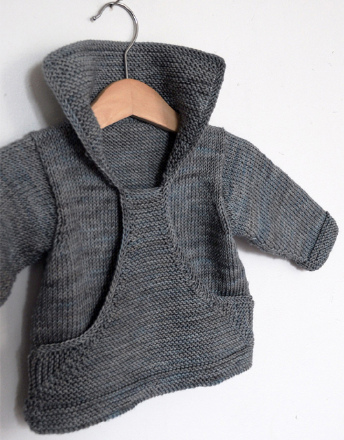 Pull Gaspard - Knitting Pattern